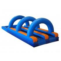 acuático doble maratón con arcos