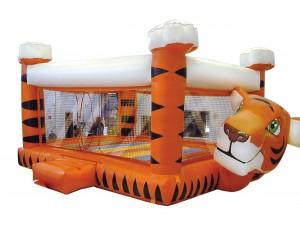 casa de bolas tigre/dalmata